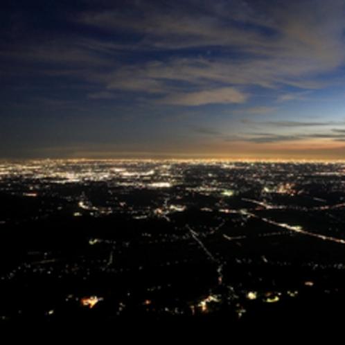 *筑波山からの夜景