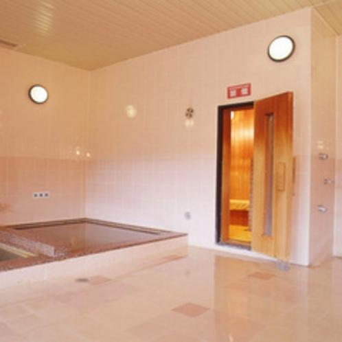 *別館つくば湯 バブルバス・水風呂・サウナ