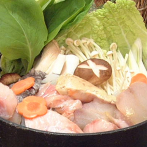 *あんこう鍋(冬季)