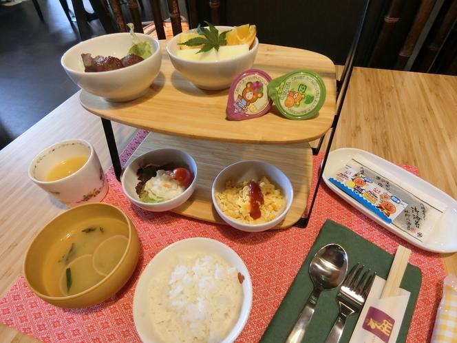 子供_和朝食