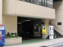 駐車場は当館1階にございますのでラクラク入庫できます♪