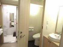 【MINNAルーム禁煙】 洗面とお風呂とトイレがそれぞれ独立しています。