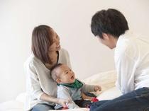 ≪あるご家族の滞在④≫楽しい旅行をありがと~~♪ママと子供の笑顔をみてパパもにっこり(^O^)