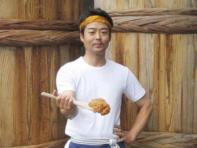 お味噌の生産者 備前味噌さん ホテルの近くにある、味噌蔵さん。とても優しい味です♪