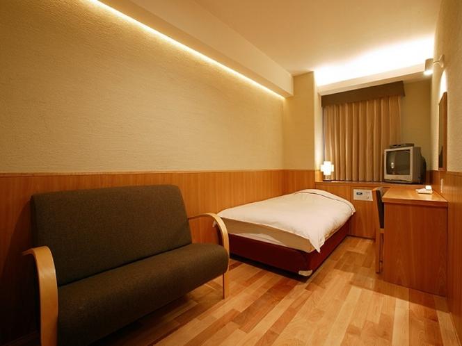 SAKURAシングル◆喫煙◆9階◆18平米◆限定1室◆ベッド幅120cm