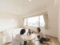 ≪あるご家族の滞在③≫ゆっくりマッタリ~♪お子様もハイハイで元気いっぱい(^_^;)(写真は一例です