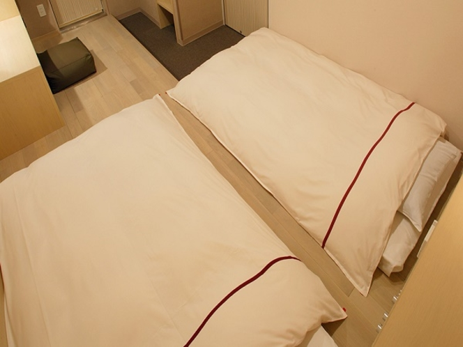 GORORI ツイン◆喫煙◆17平米◆ベッド幅110cm◆2名用