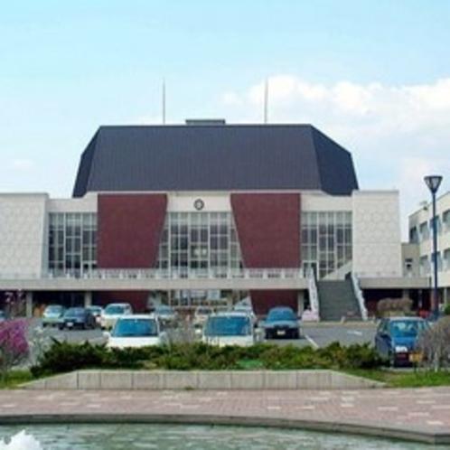 ◆苫小牧市民文化会館◆様々なコンサートが開かれる文化会館は当ホテルから徒歩3分の好立地!