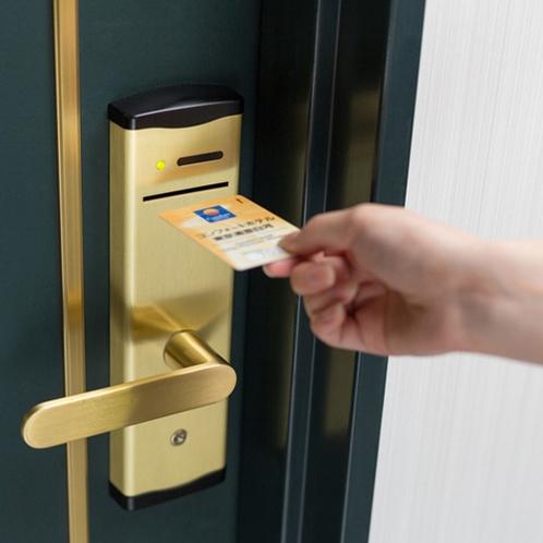 ◆ルームキーは磁気カードタイプ◆