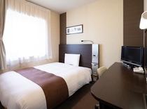 【ダブルエコノミー】ベッド幅140センチ◆広さ13平米