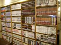 コミック1500冊!お部屋にお持込みいただけます