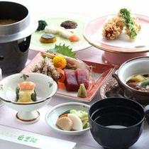 旬の食材を使用した和食会席