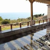 太平洋一望の露天風呂