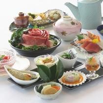 【冬メニュー:琥珀コース】 茨城のブランド常陸牛の味噌鍋、イナダの胡麻茶漬けなど季節の味をどうぞ