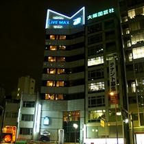 【夜のホテル】