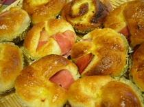朝食のパン