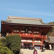 鎌倉のシンボル鶴岡八幡宮