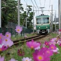鎌倉観光に便利な江ノ電