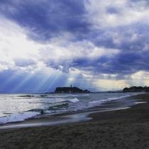 海と言ったら湘南江の島