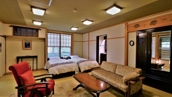 La room 露天風呂付和室(畳ベッド使用)禁煙