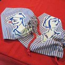カツノ平二さんデザインのセラヴィオリジナル巾着