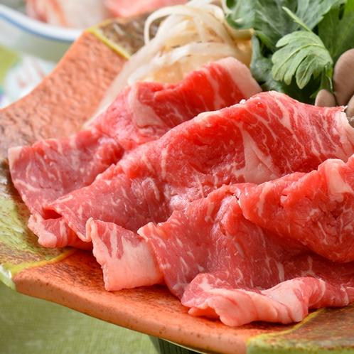【お品書き(一例)】悠会席(国産牛カルビ※冬季は牛すき煮鍋