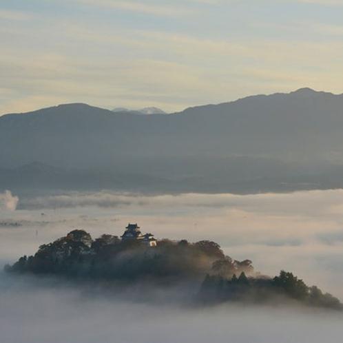 【大野城】当館より車で約30分。天候によっては雲海に浮かび上がる絶景が見れるかも♪