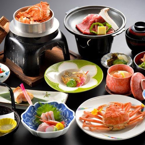 【せいこがに会席 冬期限定】福井の味覚・せいこ蟹をご賞味ください♪