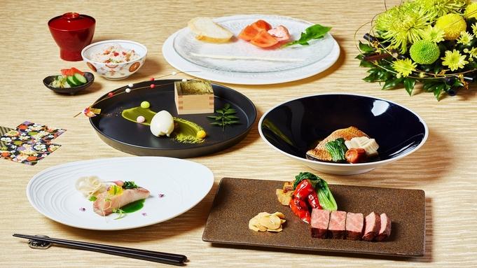 【スイートルーム×TAKUMI鉄板焼き】料理長特選贅沢ディナー付き特別プラン