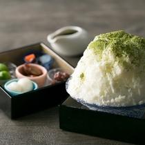 ご褒美かき氷(抹茶)