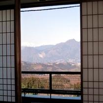 ■お部屋からの景色