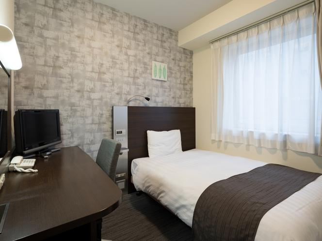 【シングルスタンダード】ベッド123幅センチ◆広さ13平米