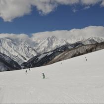 【冬】半日~一日まで絶景手軽に楽しめる岩岳スキー場(車10分)無料シャトル有・割引リフト券販売有