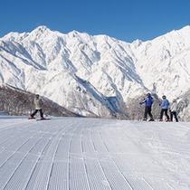 【冬】お得なリフト券が嬉しいHakuba47(五竜)スキー場(車10分)送迎有、特別割引リフト券有