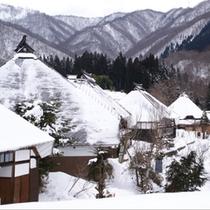 【冬】訪れる人もまばらな写真スポット青鬼(ホテルから車15分)送迎・路線バスなし・凍結注意