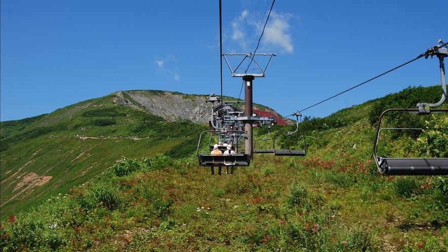 【八方アルペンライン】標高差1,060mを一気に登り、わずか40分ほどで標高1,830mへ