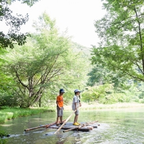 【夏】水遊びからアスレチックまで自然体験村@グリーンスポーツの森(ホテルから車5分)