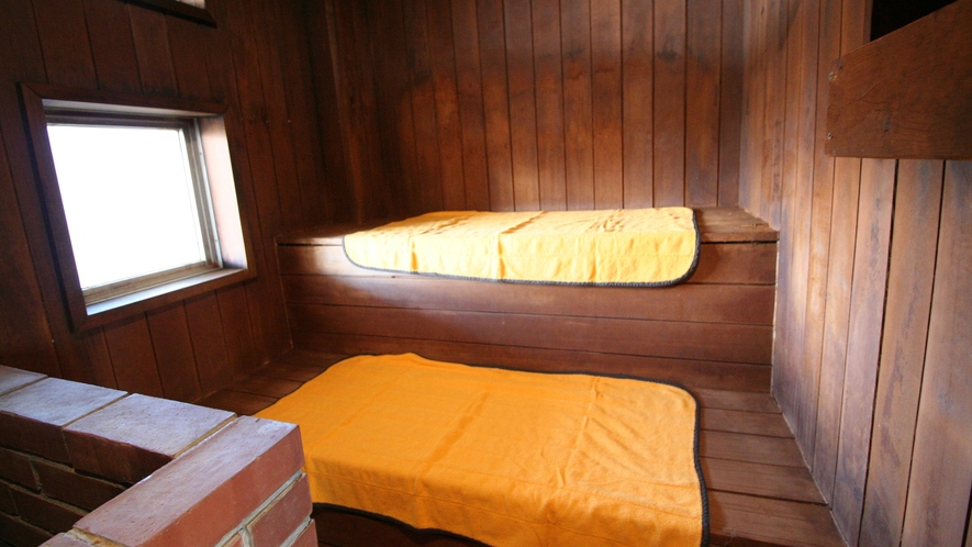 【天神の湯】白馬・小谷でサウナのある宿泊施設は多くありませんが、私ども天神の湯にはサウナあります