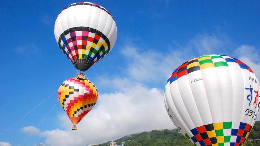 【熱気球係留体験】搭乗希望のお客様は前日までの完全予約制になってます