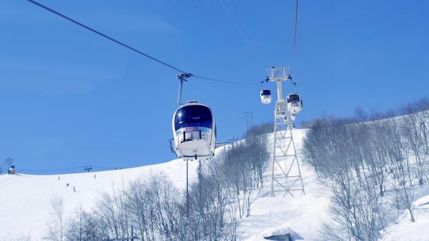 【冬】白馬八方尾根スキー場 ゴンドラアダム