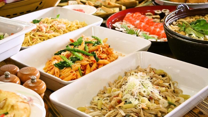 【夕食】夕食は3パターン、朝食は2パターン、そして季節によって内容を変えています