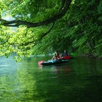 【体験】夏は湖で涼しく各種体験がオススメ・カヌー、カヤック(体験場所まで車20分)割引券あり