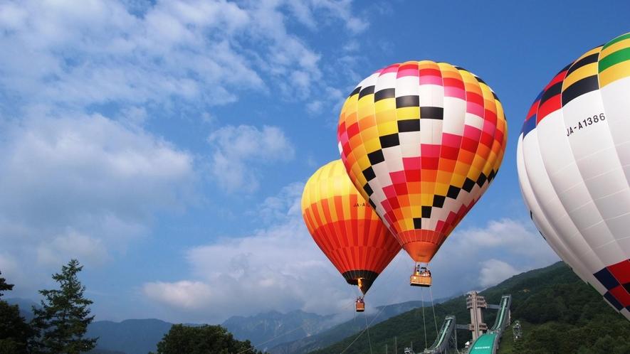 【熱気球係留体験】地上30mからの景色を楽しんでみませんか?