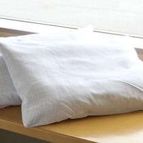 【貸し出し備品】枕の貸し出しあり