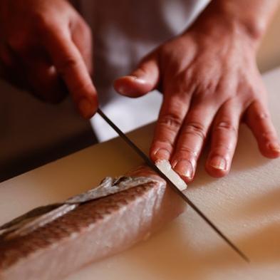 【大人の特等席◆カウンター割烹】量より質を愉しむ料理「匠会席:くりや八味」楽天プレミアム