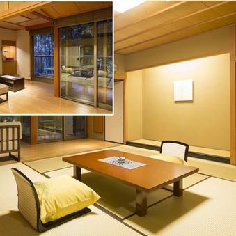 竹林に和む憧れのテラス付和室12.5畳+ソファー又は掘炬燵付