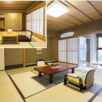 【竹林に和む贅沢な8畳の離れ付き客室】 12.5畳+8畳