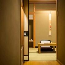 【離れ付客室】12.5畳+離れの間