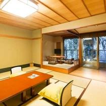 【テラス付客室】12.5畳+ソファー又は掘炬燵付