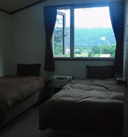 ロッジ ベッドルーム(客室)